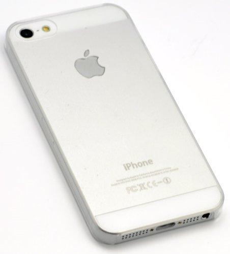 itronik Hülle kompatibel mit iPhone 5 5S 5SE ORIGINAL Premium Hardcase - Klar/Transparent (iPhone 5 5S Hülle - iPhone 5 5S Schutzhülle - iPhone 5 5S Hülle)
