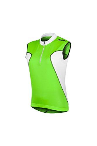 Spiuk Anatomic - Maillot S/M para Hombre, Color Verde/Blanco, Talla S