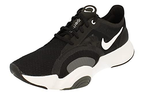Nike Superrep Go Hombre Trainers CJ0773 Sneakers Zapatos (UK 7 US 8 EU 41, Black White Smoke Grey 010)