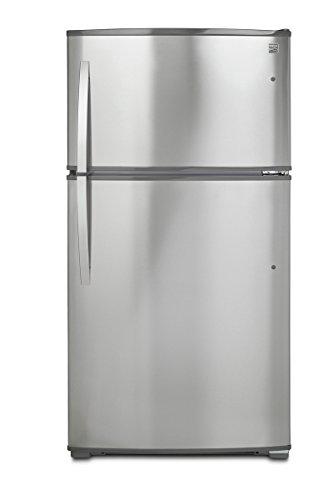 Kenmore 71215 21 cu.ft. Top-Freezer Refrigerator with Ice ...