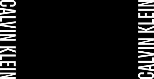 Calvin Klein Towel Black