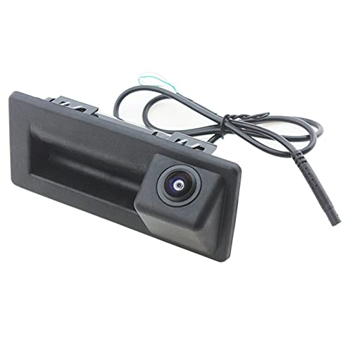 JXXDDQ HD CCD 170 Grados Fisheye Lens Coche Tronco Mano Vista Posterior Cámara para Audi A4 V W Touran Tiguan Bora Tournamen para Skoda Speed Octavia