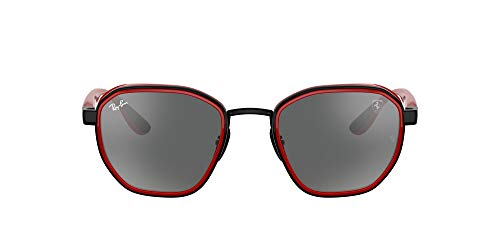 Ray-Ban 0RB3674M Gafas, Matte Black, 51 Unisex