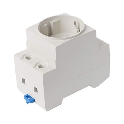 ZChun - Enchufe de corriente alterna tipo UE (35-mm, 16 A,