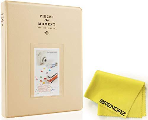New BRENDAZ 64 Pockets Mini Photo Album for Fujifilm Instax Mini 7s 8 8+ 9 25 26 50s 70 90 Instant C...
