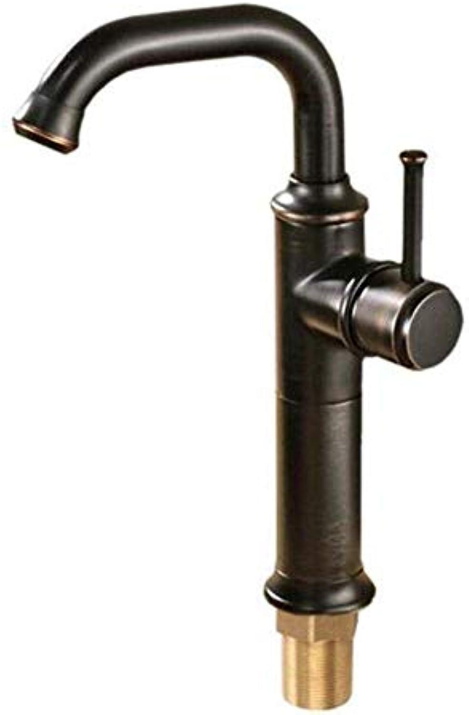 CFHJN Home Wasserhahn aus reinem Kupfer 360 Grad einlochmontage küche hei und kalt waschbecken waschbecken