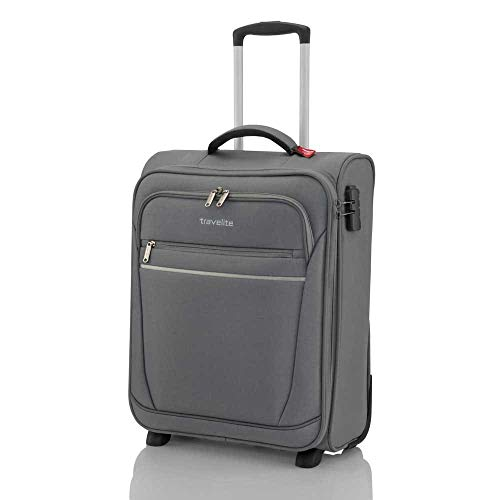 Onboard 'CABIN' luggage by travelite - practical 2-wheel suitcases with 2 spacious front pockets