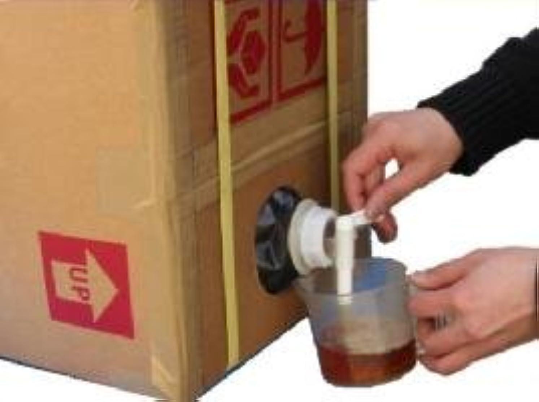 ビール唯一憤る炭天 コック付きケース入り紀州産 木酢液20L