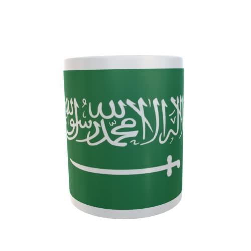 U24 Tasse Kaffeebecher Mug Cup Flagge Saudi Arabien