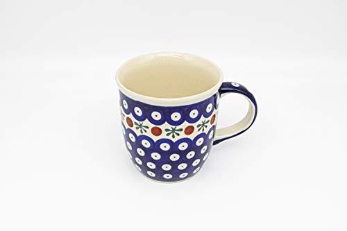 Original Bunzlauer Keramik Kaffee Becher V=0,35 Liter im Dekor 41