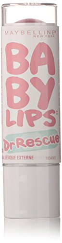 Maybelline New York Baby Lips Dr. Rescue Medicated Lip Balm, Berry Soft, 0.15 Ounce