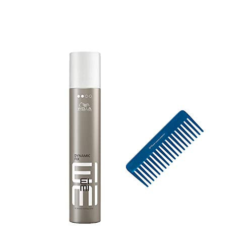 1x Wella Eimi Dynamic Fix 500ml 45 Sek. Haarspray + HF Blue Kamm gratis