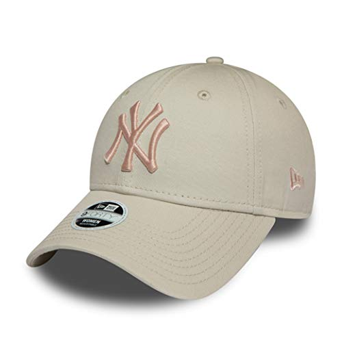 New Era New York Yankees MLB Cap New Era Verstellbar Baseball 9forty Damen Beige Rosa - One-Size