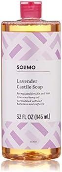 Solimo Lavender Castile Soap, 32 fl. oz