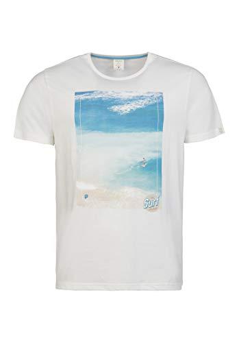 Protest Herren T-Shirt DERWEN Seashell L