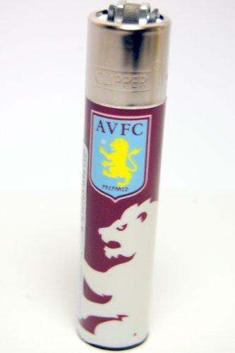 CLIPPER FLINT LIGHTER OFFICIAL Aston Villa FOOTBALL CLUB