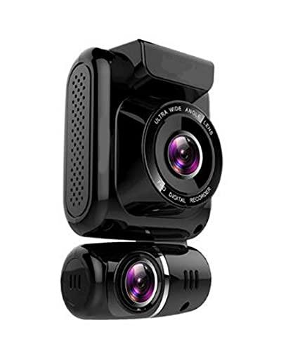 ACD Mini Oculto 4K 2160P Dual Lens Car DVR WiFi GPS Logger Chip Sensor Cámara Dual Dash CAM Recorder(Color:a,Size:32GB)