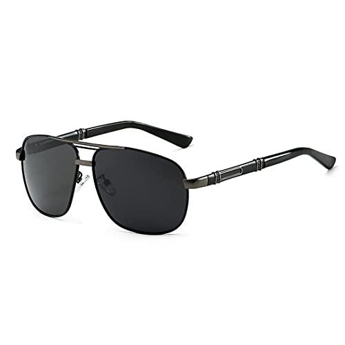 FSCLJ Gafas de Sol con Montura de Sapo, Gafas de Sol UV400, protección Ocular, Gafas de Sol antideslumbrantes para Ciclismo, Bicicleta, Pesca, conducción, Gafas de Sol