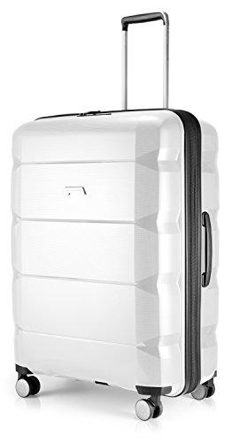 Hauptstadtkoffer Autunno/Inverno 18 valigia grande, bianco (Bianco) - 65790029