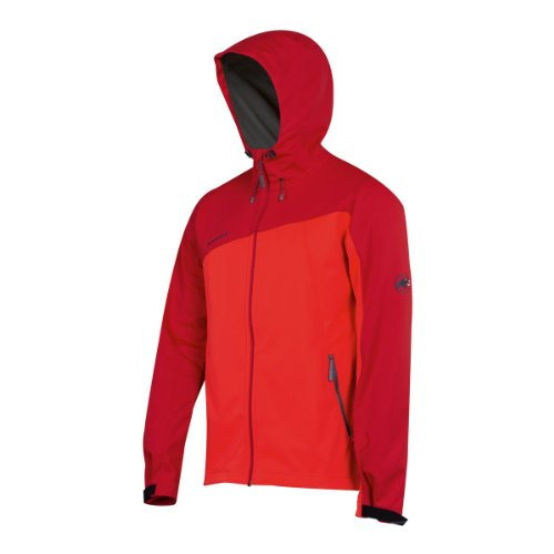 Mammut Cellon Hoody poppy/inferno L