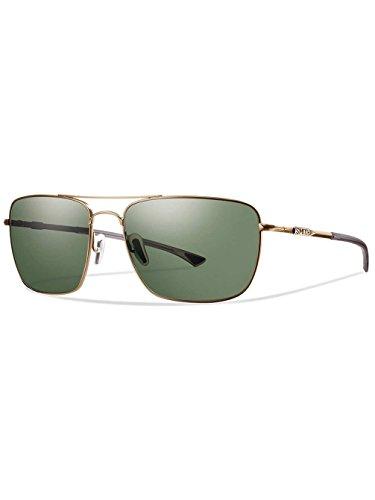 Smith Herren Nomad/N Sportbrille, Gold/Grau Grün Lz, 59