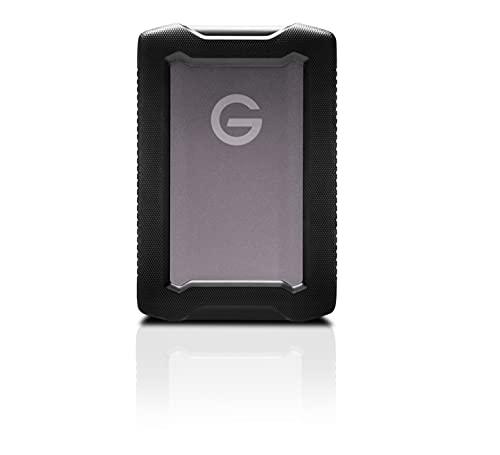 SanDisk Professional 5TB G-Drive ArmorATD - Rugged, Durable Portable External Hard Drive HDD, USB-C, USB 3.2 Gen 1 - SDPH81G-005T-GBAND
