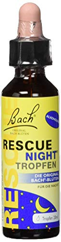 Bach Original Rescue Night Tropfen alkoholfrei, 20 ml