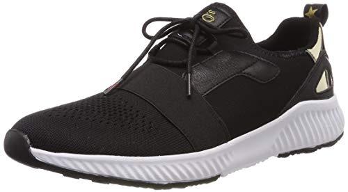 s.Oliver Damen 5-5-23645-22 001 Sneaker, Black, 39 EU