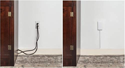 Product Image 3: Sleek Socket Ultra-Thin Electrical Outlet Cover with 3 Outlet Power Strip and Cord Management Kit, 8-Foot, Standard Size