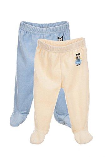 Mickey Mouse Set de 2 Pantalons de Naissance bébé garçon