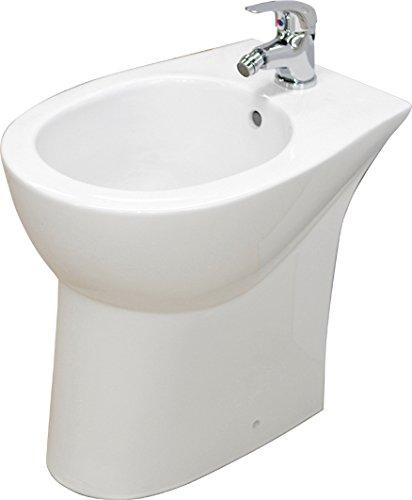 Bidet sanitari per disabili anziani alto h 47 cm