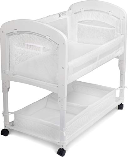 Arm's Reach Cambria Co-Sleeper Bassinet, White