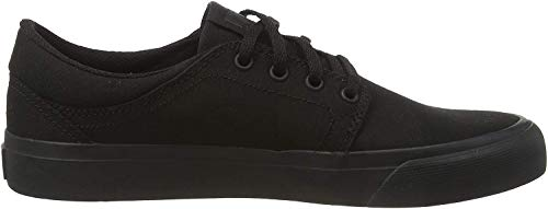 DC Shoes Herren Trase Tx Low-top Sneaker, Schwarz (Black/Black/Black 3bk), 43 EU