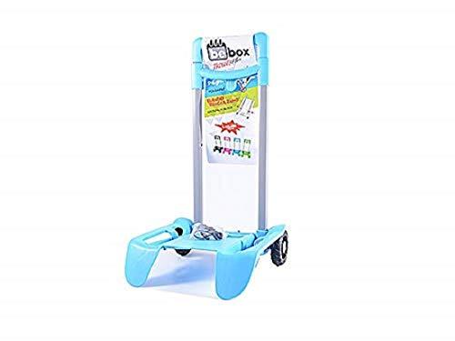 Seven - Carrello Porta Trolley Scuola Celeste - Be Box Plus