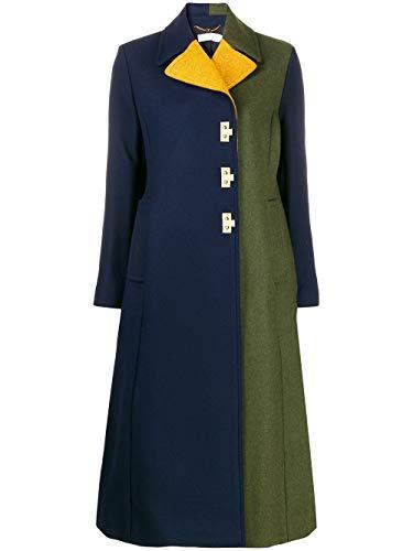 Luxury Fashion | Tory Burch Dames 61204405 Donkerblauw Wol Mantels | Herfst-winter 19