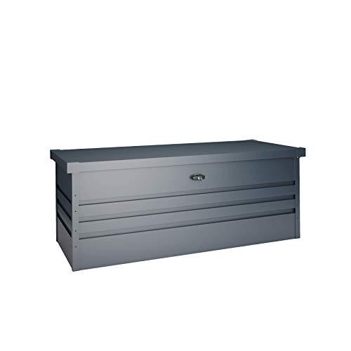 Hoggar Arcón metálico antracita 6OOL 165x70x62cm