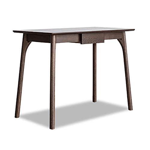 Mesa Ordenador Hogar de escritorio de madera de 0.8m 1.0m 1.2m ORDENADOR PERSONAL Escritorio del ordenador portátil Oa canal que estudia el escritorio de la escritura con los cajones y la almohadilla