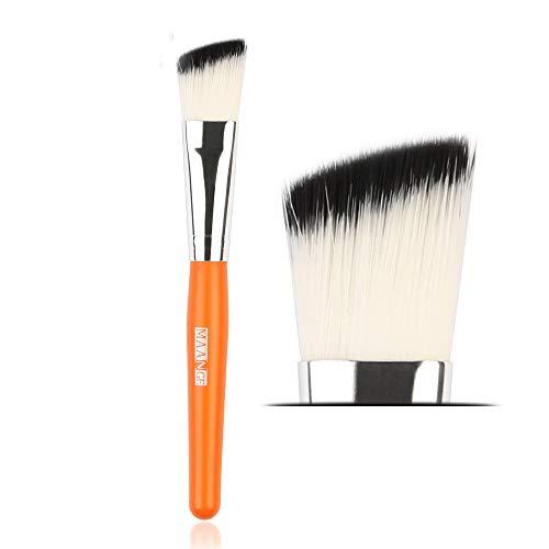 Beauty-Tools,Momoxi 1Pc Makeup Brushes Powder Foundation Eyeshadow Eyeliner Lip Cosmetic Brush Holzgriff, farbiges Faserhaar, Mascara, Augenbrauenstift, Eyeliner, Valentinstag, Freundin
