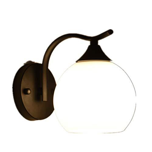 Wandlampen, zacht licht, smeedijzer, minimalistisch, robuust en stabiel, geschikt voor woonkamer, trap, hal