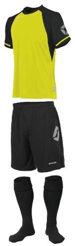Stanno Trikot » Liga «–Neon Gelb/Schwarz Short Sleeve Fußball, Shirts, Shorts, Socken