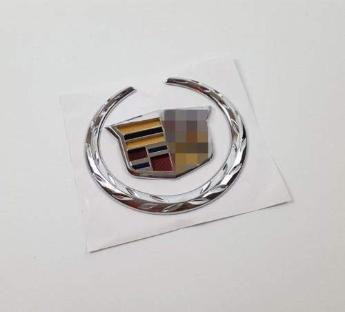 Cadillac 3D-Emblem, Grafik-Aufkleber, Auto-Aufkleber, passend für Cadillac SRX SUV SRX ATS