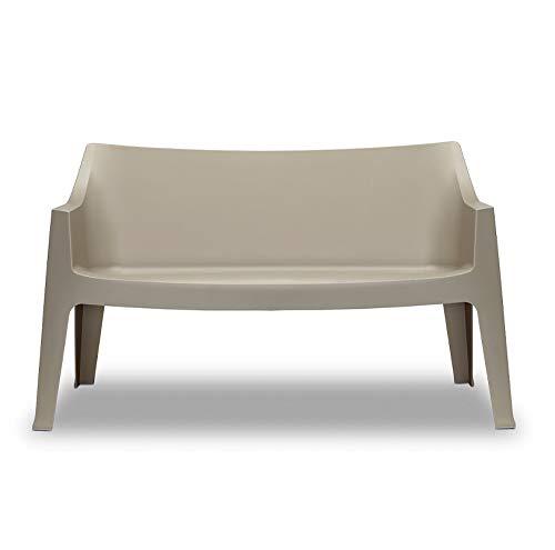 Scab Design Sofa-Set aus Technopolymer, in 4 Farben erhältlich (taupe)