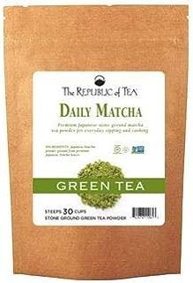 The Republic of Tea - Non-GMO, Japanese Matcha Tea Powder Bulk Size – 4.5 Ounces