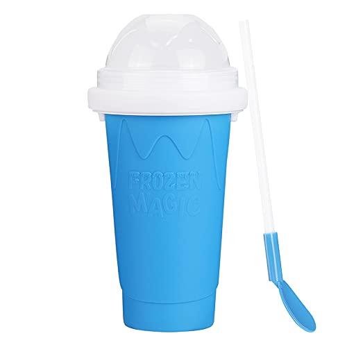 DIY smoothie taza pizca tazas TIK TOK congelado magia apretón taza enfriamiento Maker taza...