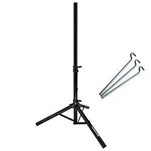 Trípode PremiumX trípode trípode satelital de acero para antena parabólica - ideal para acampar terraza de balcón como trípode soporte de balcón