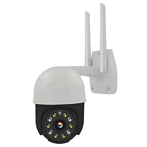 ZJ Cámara IP WiFi Cámara De Seguridad Inalámbrica para El Hogar Monitor De Audio De 2 Vías Cámara De Vigilancia De Visión Cámara De Rotación PTZ Cámara HD WiFi(Size:64G RAM,Color:Negro)