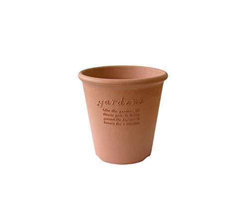 エコポット/植木鉢 丸型 5号 素焼き調 『アーブル(Hachiman gardens:arbre)』