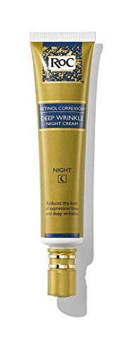 RoC Retinol Correxion Deep Wrinkle Anti-Aging Retinol Night Cream, 1 Ounce