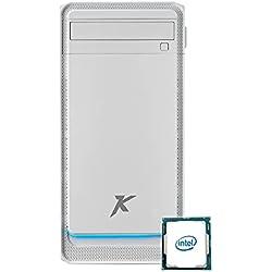 Pc fisso Intel Cpu 3,50 GHz Turbo,Ram 16Gb Ddr4,Ssd M.2 256Gb,Lettore masterizzatore cd dvd,Windows 10 Pro Scheda Video UHD,Pc fisso ufficio casa completo Computer Desktop