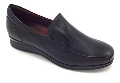 PITILLOS 5700 mocasín Confort Ligero Negro - 40